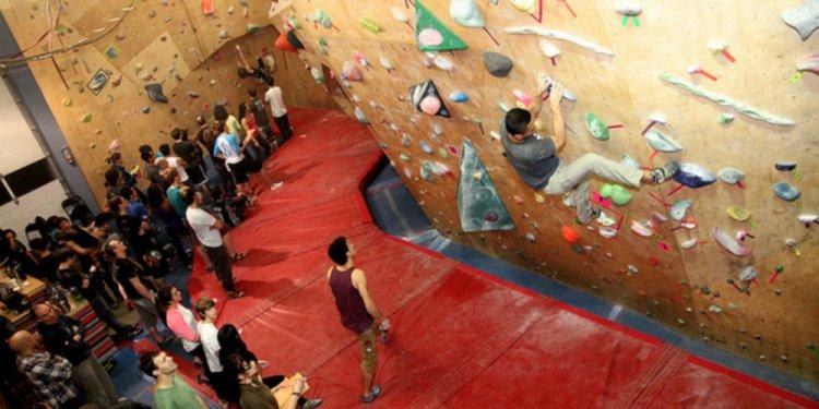 An intro to rock climbing at