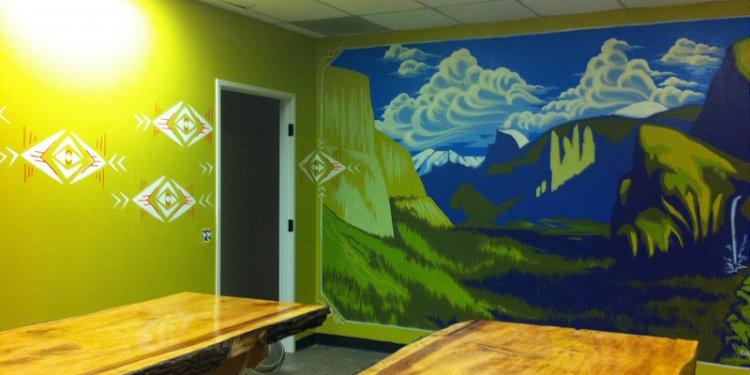 Yosemite Mural 2012