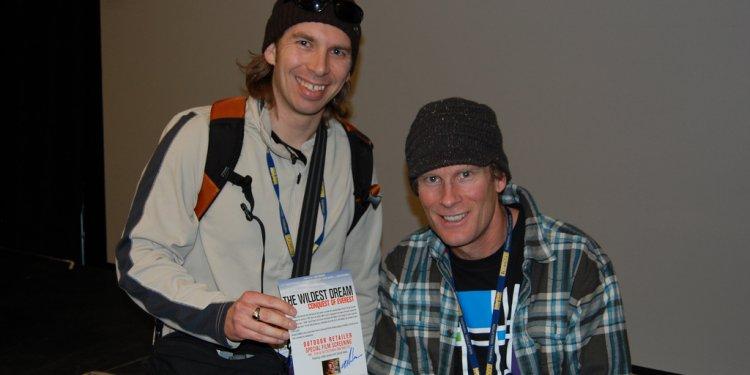 Conrad Anker and Host Brandon