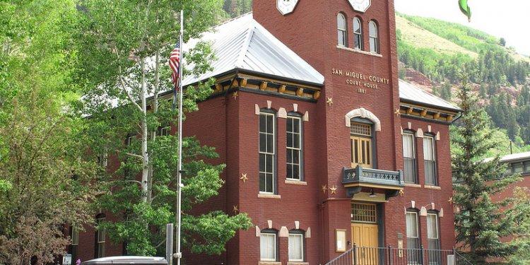 County court - Telluride, Colorado