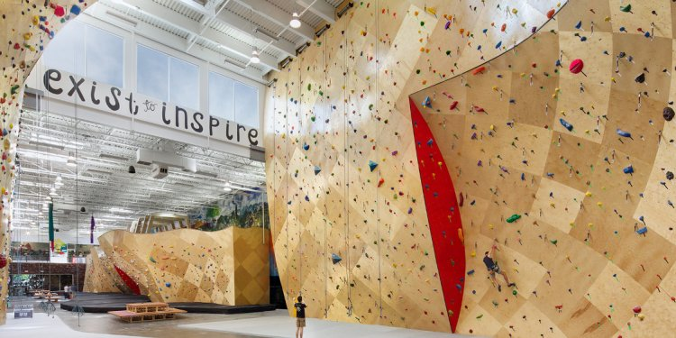 Home Climbing Wall Designs