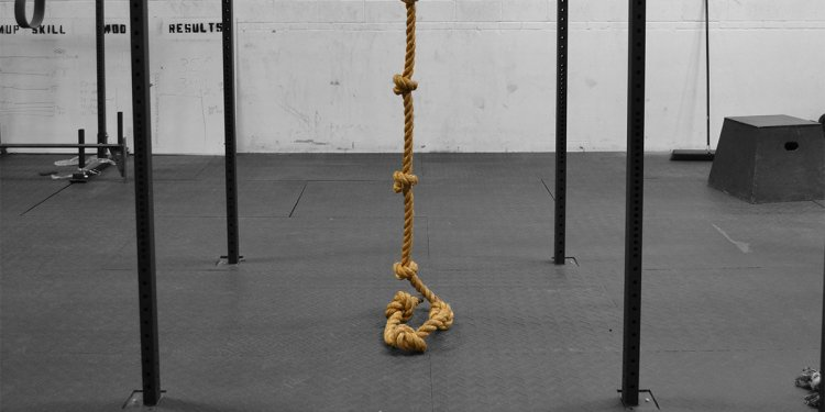 Knotted Climbing Rope - Gym
