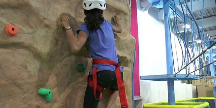 Rock Climbing Activity for