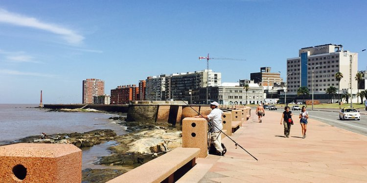 Uruguay Montevideo bicycle ride