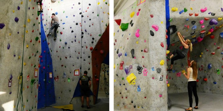Boston Rock climbing Gym