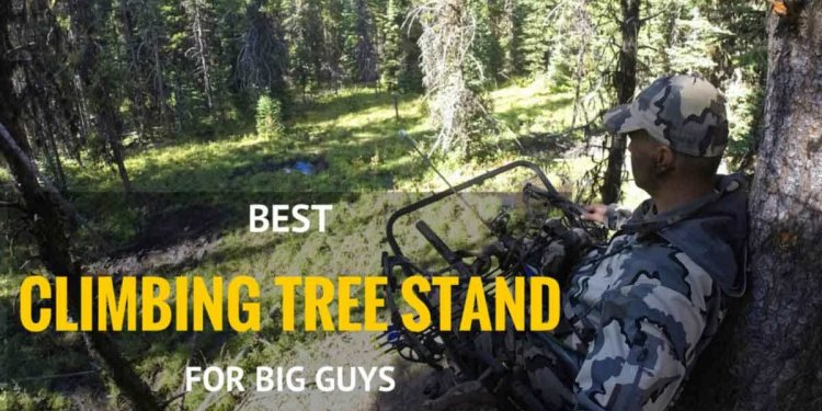 best climbing tree stand for big guys: lone wolf sit and climb combo 2