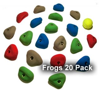 Climbing Holds 20 Pack