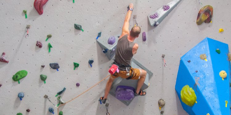 Vertical holds Climbing