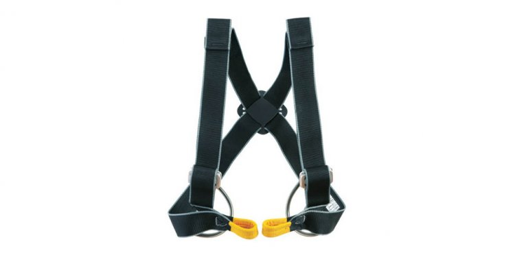 Climbing chest harness
