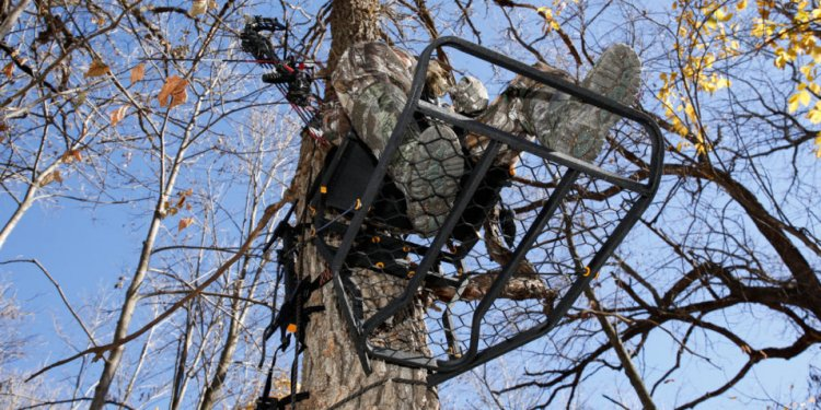 Tree stand Climbing steps