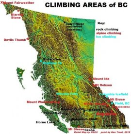 Rock Climbing Photo: The climbing beta on this map is a mile wide and a...