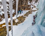 Ouray Colorado Ice climbing