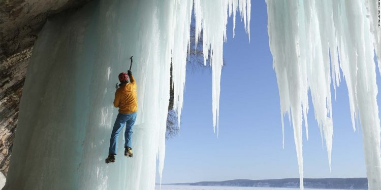 Ice climbing Movie